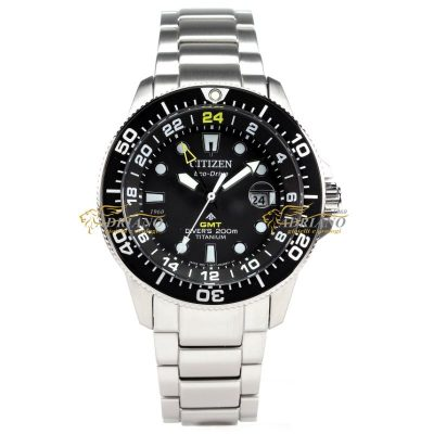 Citizen Promaster BJ7110-89E GMT Eco-Drive Super Titanio